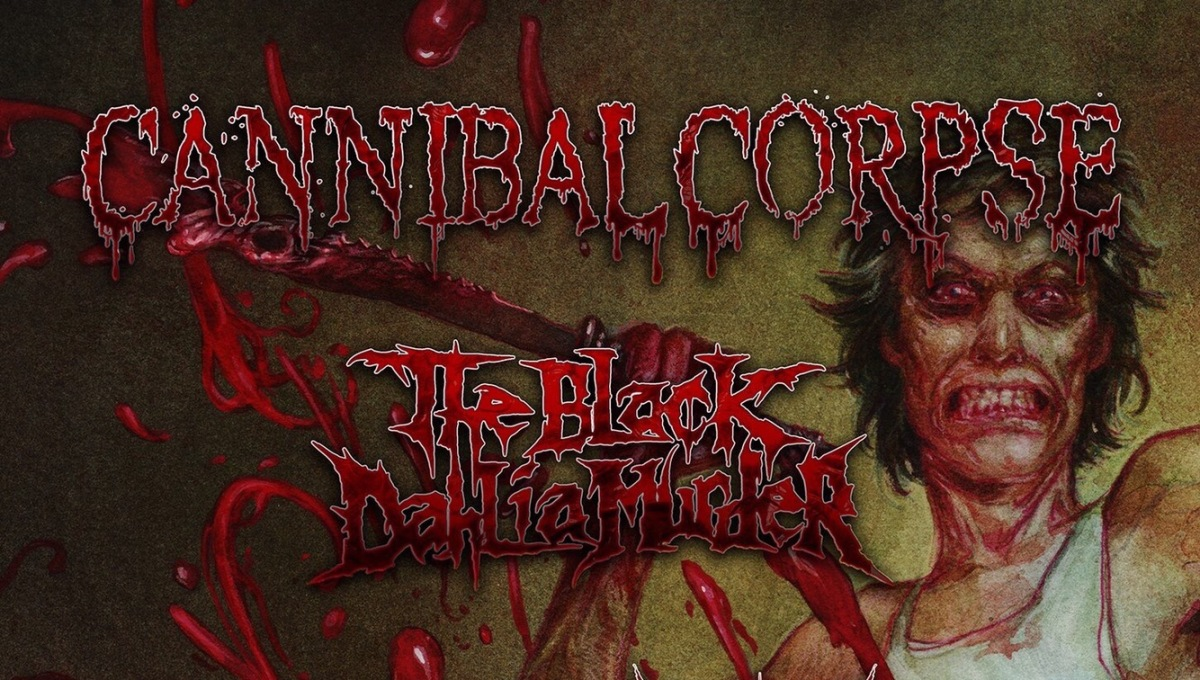 "CANNIBAL CORPSE ANNOUNCE RED BEFORE BLACK ""CODE OF THE SLASHERS"" AND TOUR"