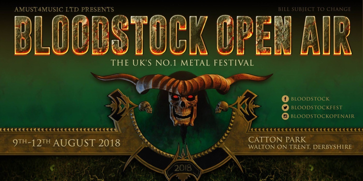 STOP THE PRESSES - AT THE GATES AND MORE ANNOUNCED FOR BLOODSTOCK