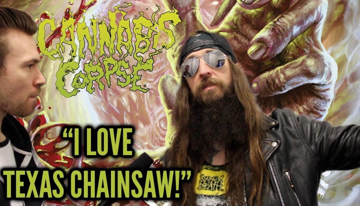 "CANNABIS CORPSE - ""WE LOVE REDNECK CANNIBAL HORROR MOVIES!"""