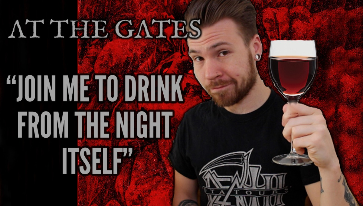 "AT THE GATES - STARING INTO ""THE MIRROR BLACK"""